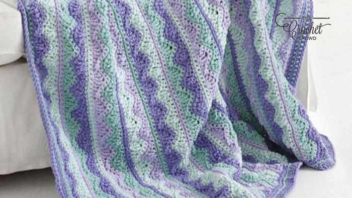 Crochet Summer Mist Throw Full