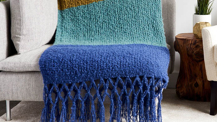 Knit Simple Textures Blanket