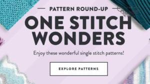 One Stitch Knit and Crochet Wonders