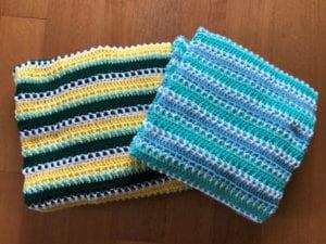 Crochet Pick 4 Afghan by Jeanne Steinhilber