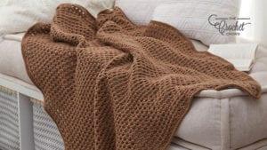 Crochet Archways Throw