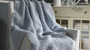 Crochet Beginner Throw