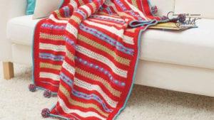 Crochet Christmas Morning Throw