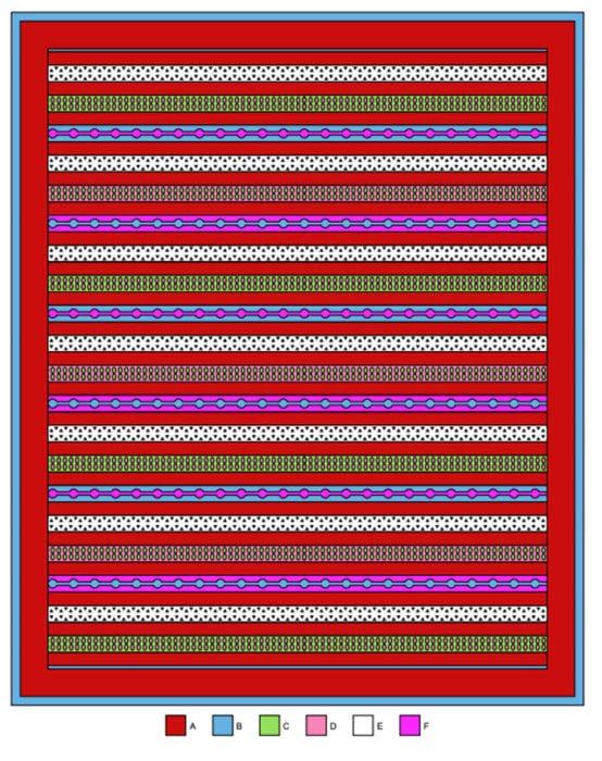 Crochet Christmas Morning Throw Layout