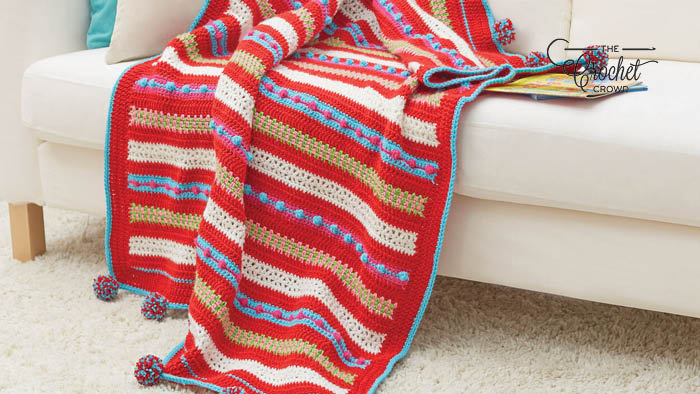 Crochet Christmas Morning Throw Pattern