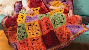 Crochet Fabulous Fall Throw