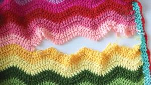 Crochet Fixing Torn Blankets