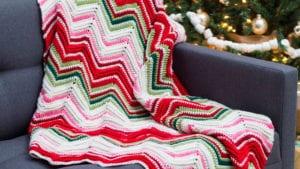Crochet Ripples of Joy Blanket