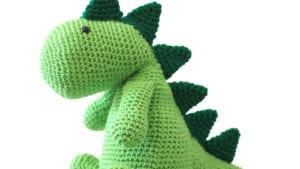 Crochet Squish A Saurus Stuffie