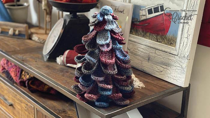 Crochet Tree Decor