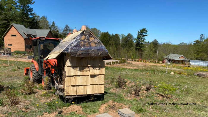 Insect Hotel Moving in Nova Scotia