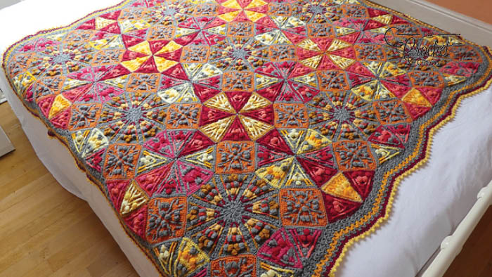 The Crochet Kaleidoscope Blanket Pattern