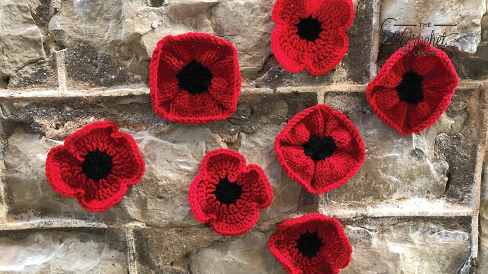 The Crochet & Knit Poppy Project Museum Presentation