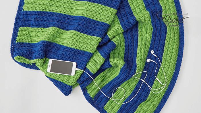 Crochet Beginner Well Schooled Throw