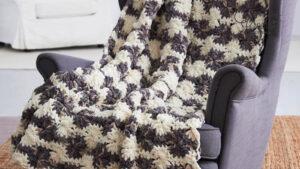 Crochet Big Wheels Blanket