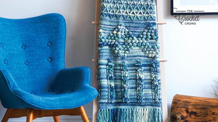 Crochet Bobble Textures Blanket