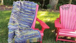Crochet Bobble Textures Blanket Sample