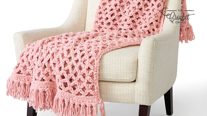 Crochet Love Knot Blanket