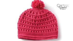 Crochet Pebbled Texture Hats
