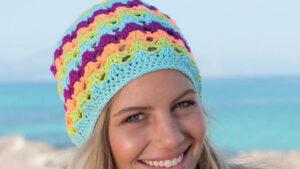 Crochet Pipeline Slouchy Hat