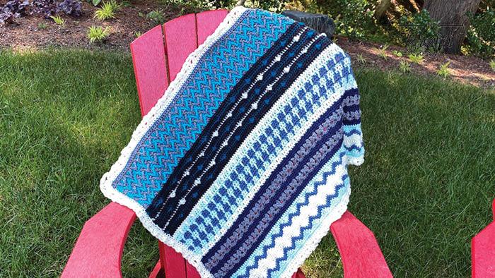 Crochet Happy Holiday Tutorial Sample