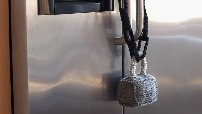 Crochet Padlock for Fridge