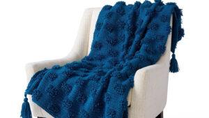 Crochet Soft Tuft Blanket