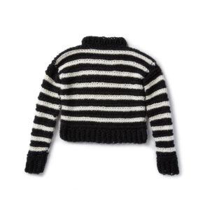 I Heart You Crochet Sweater