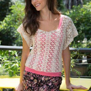 Crochet Lace Essence Top