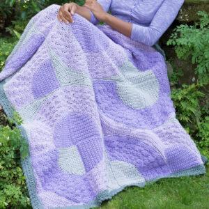 Crochet Round You Go Throw
