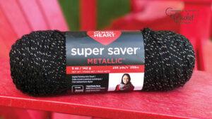 Red Heart Super Saver Metallic Yarn