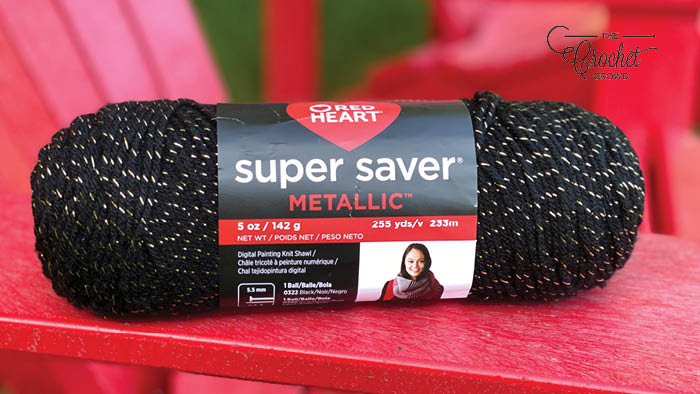 Red Heart Super Saver Metallic Yarn