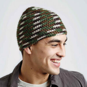 Crochet Camo Hat
