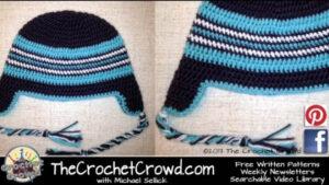 Crochet Adult Ear Flap Hat