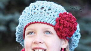 Crochet Awesome Blossom Beret