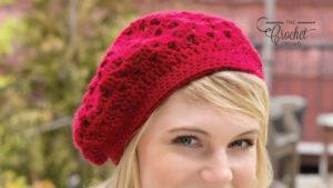 Crochet Bridgette Beret