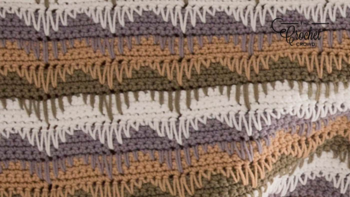 Crochet Expected Waves Turned Over