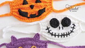 Crochet Face Masks for Halloween