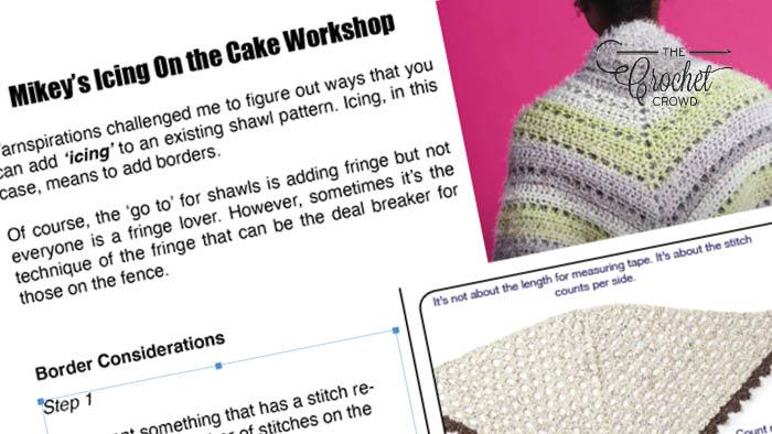 Crochet Icing On the Cake Border Workshop