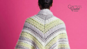 Crochet To the Point Shawl