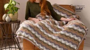 Crochet Unexpected Waves Blanket