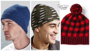 Crochet Hats For Dad