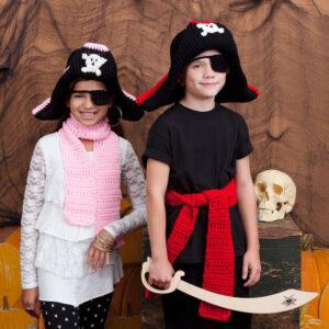 Crochet Child's Pirate Costume