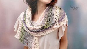 Crochet Delicate Shells Shawl
