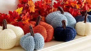 Crochet Harvest Pumpkins