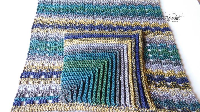 Crochet Hello Pockets Wrap