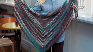 Crochet Kaleidoscope Shawl