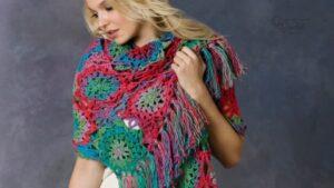 Crochet Lorelei Shawl