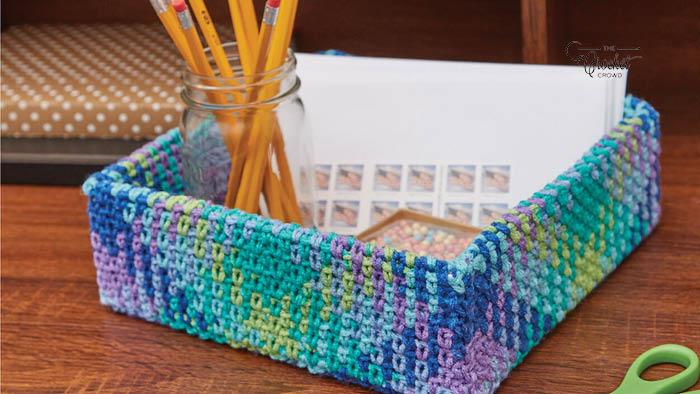 Crochet Planned Pooling Storage Box