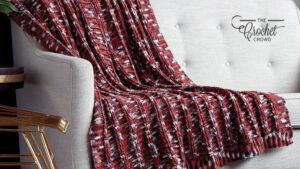 Crochet Ridges Blanket